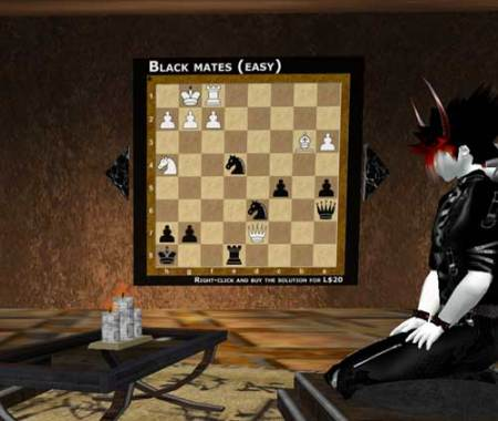 Hmmm… nope, I don't get chess at all.